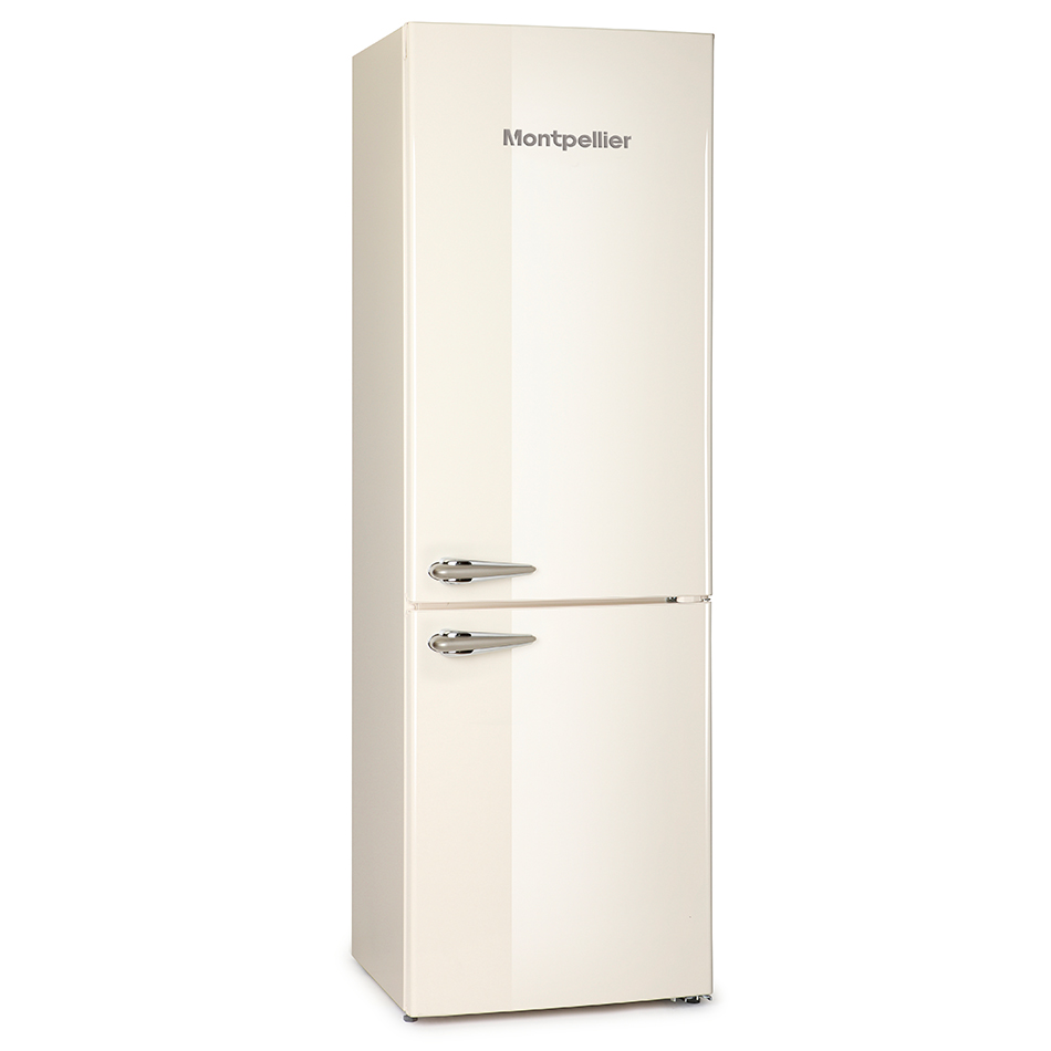 montpellier mab365c retro fridge freezer