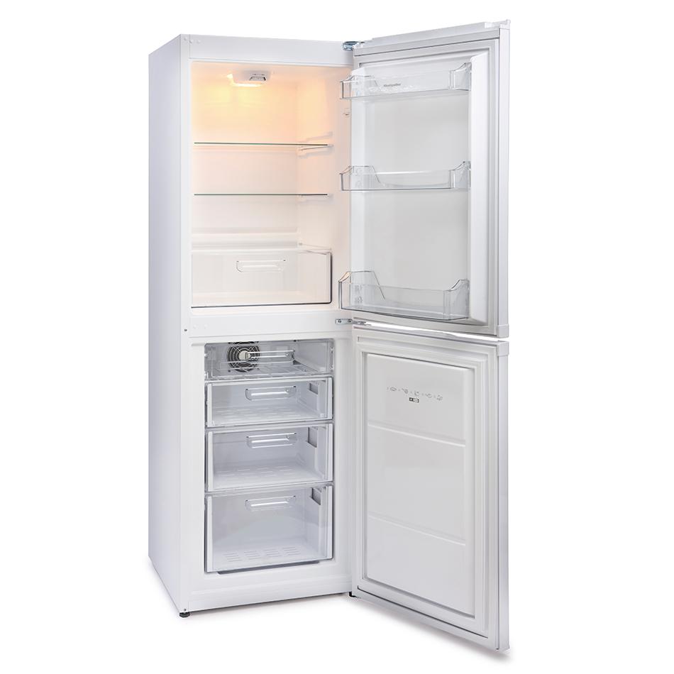 montpellier mff170w frost free combi fridge freezer. Black Bedroom Furniture Sets. Home Design Ideas