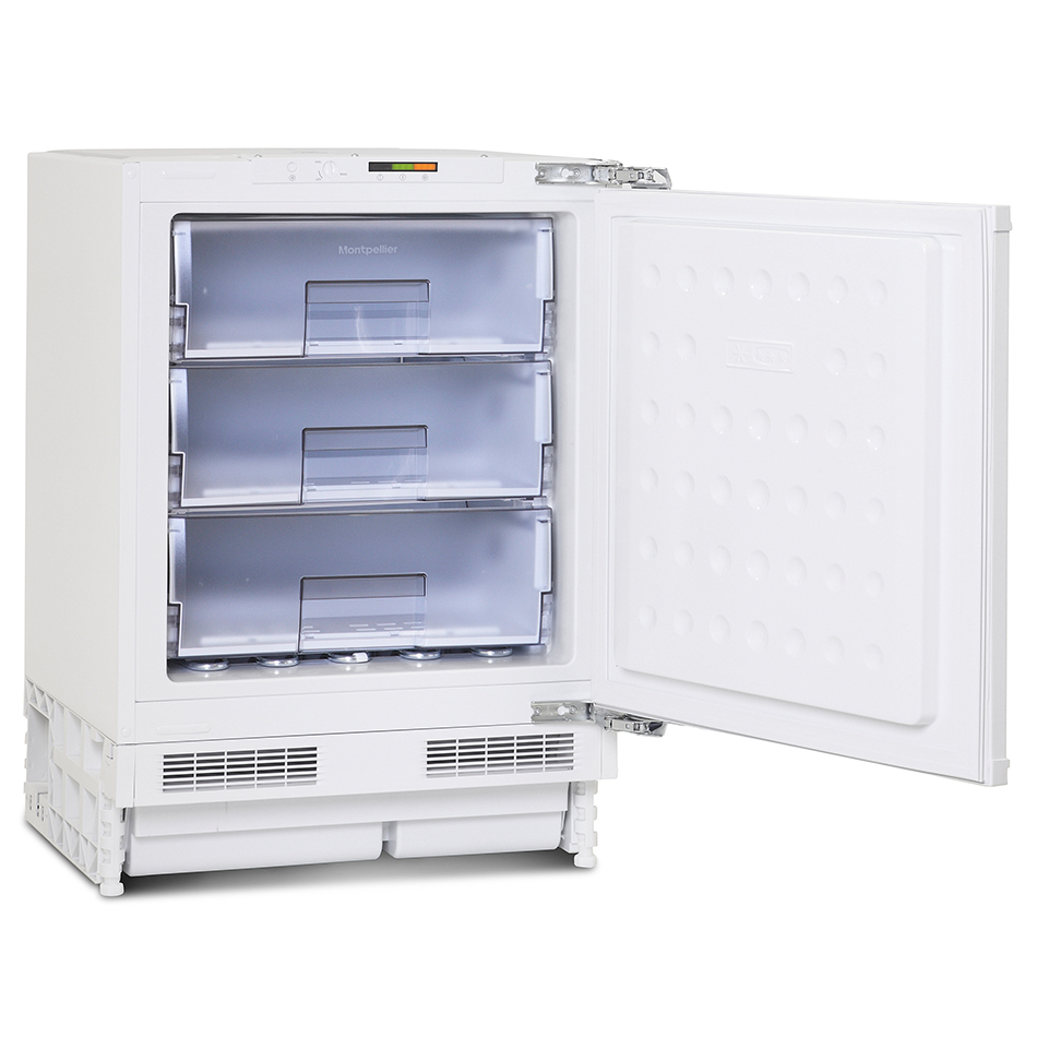 Montpellier mbuf300 integrated built under freezer - Integrated freezer ...