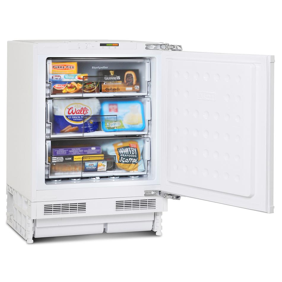 Montpellier Mbuf300 Integrated Built Under Freezer