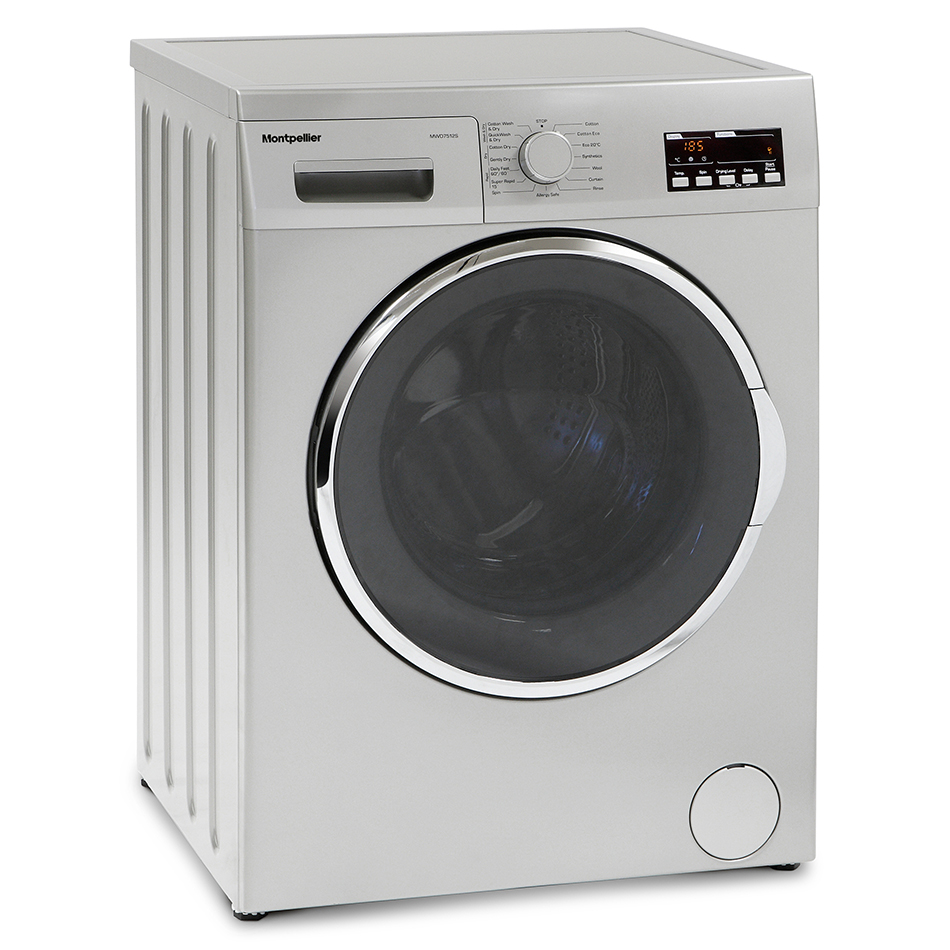 Montpellier MWD7512S Freestanding Washer Dryers