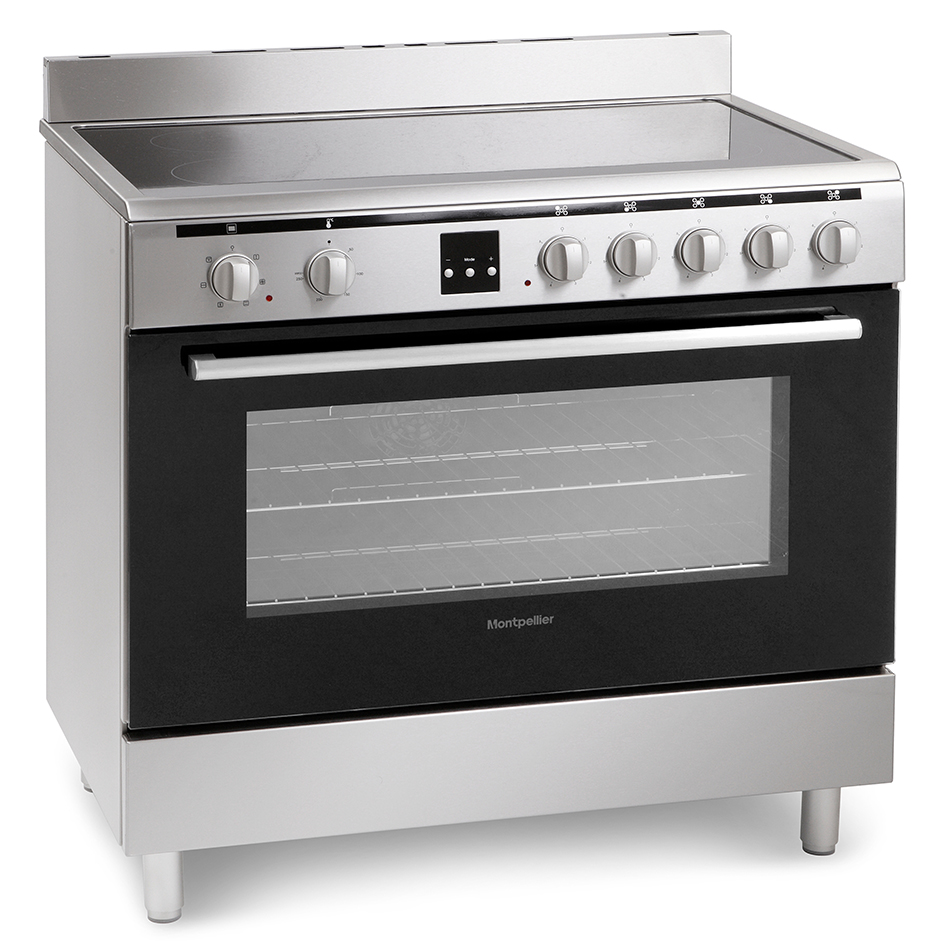 Montpellier MR90CEMX Electric Range Cooker