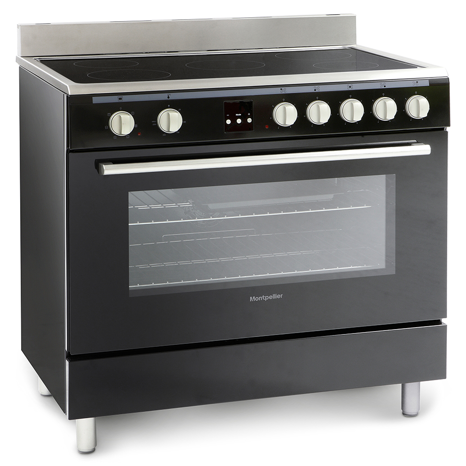 Montpellier MR90CEMK Electric Range Cooking