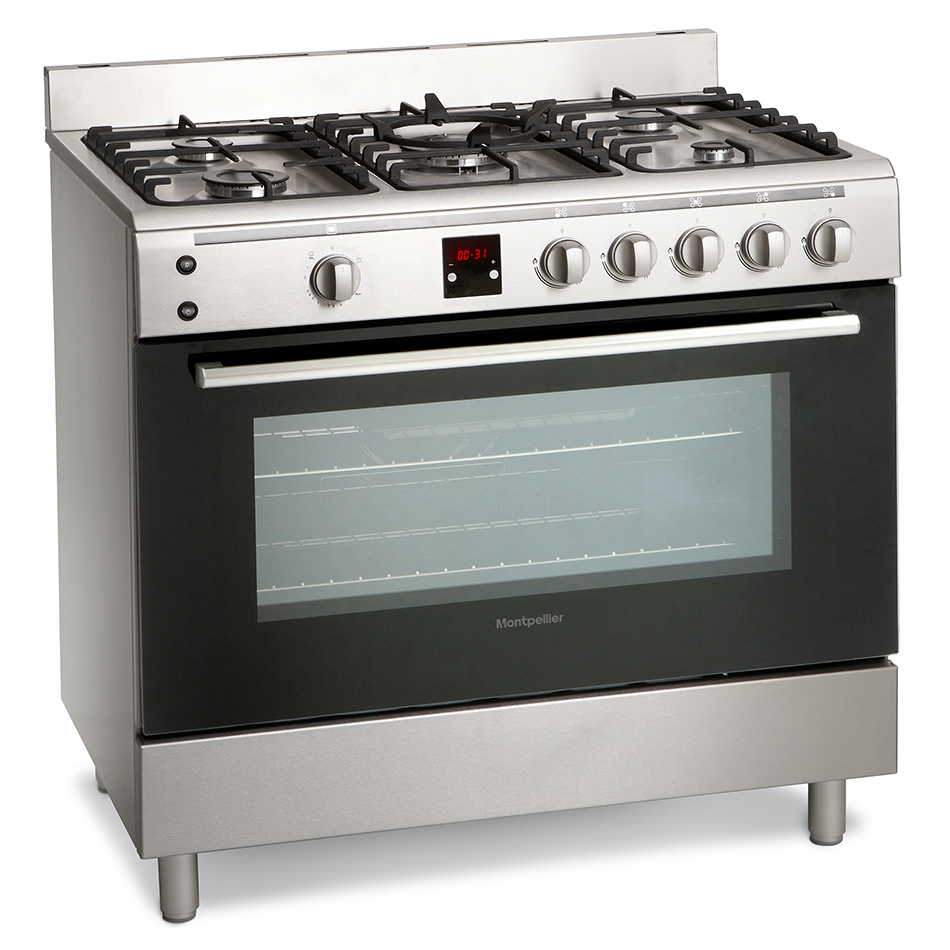 Montpellier MR90GOX Gas Range Cooker