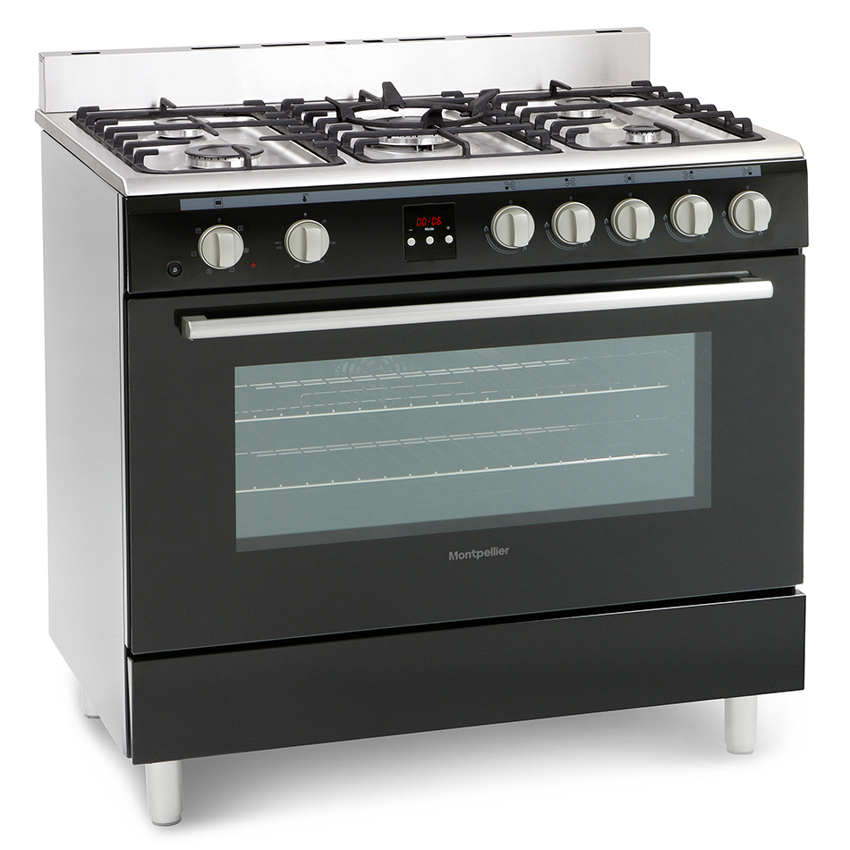 Montpellier MR90DFMK Dual Fuel Range Cooking