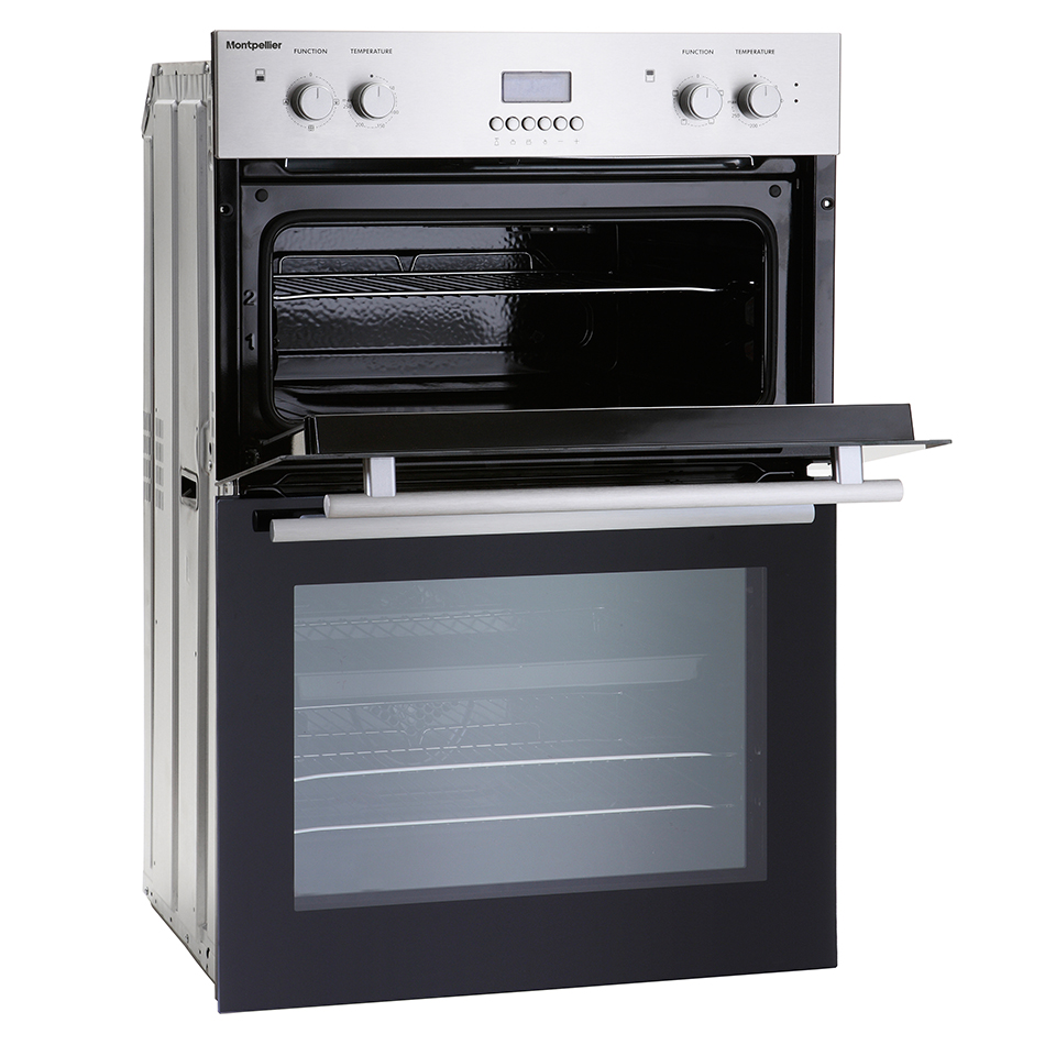 Double Ovens Electric ~ Montpellier mdo double built in oven electric