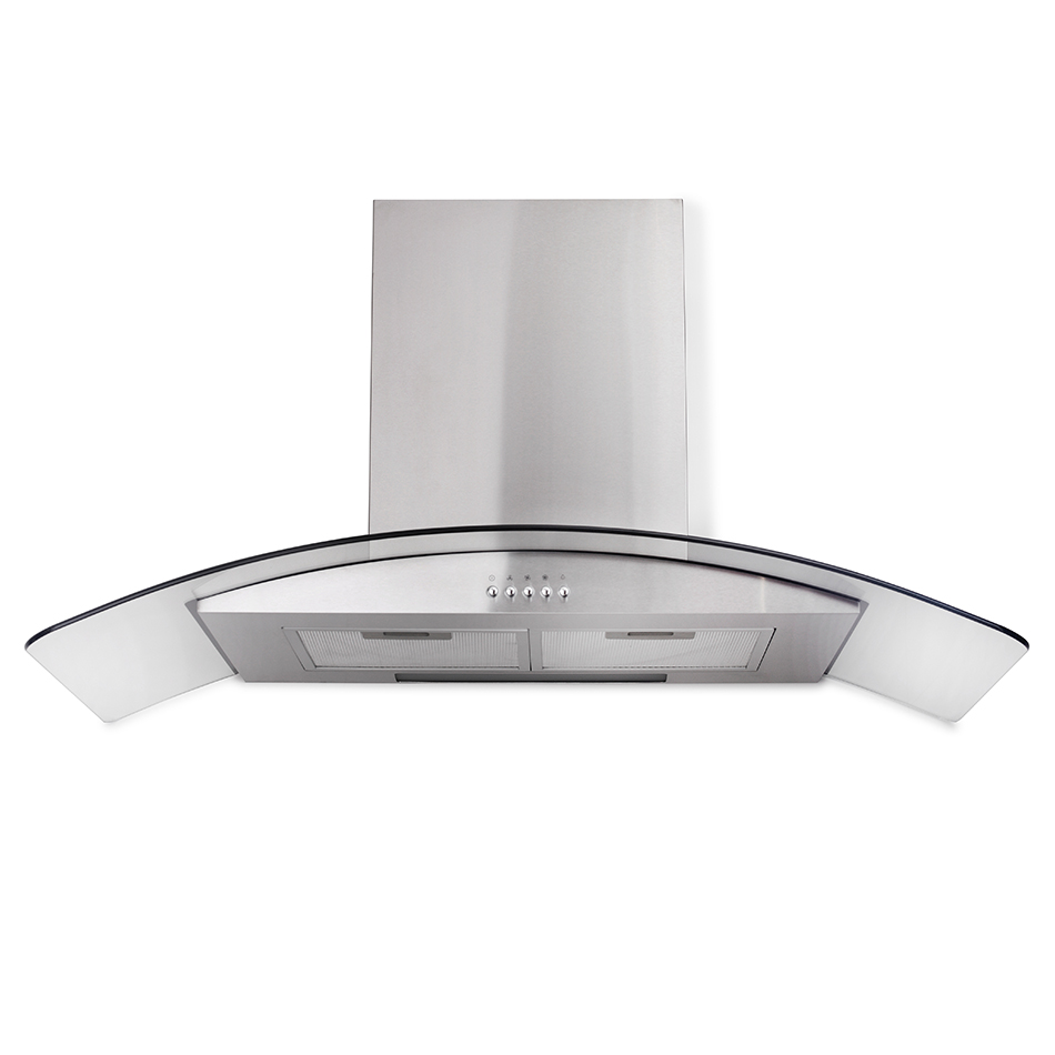 Montpellier CHG903MSS Glass Chimney Hood