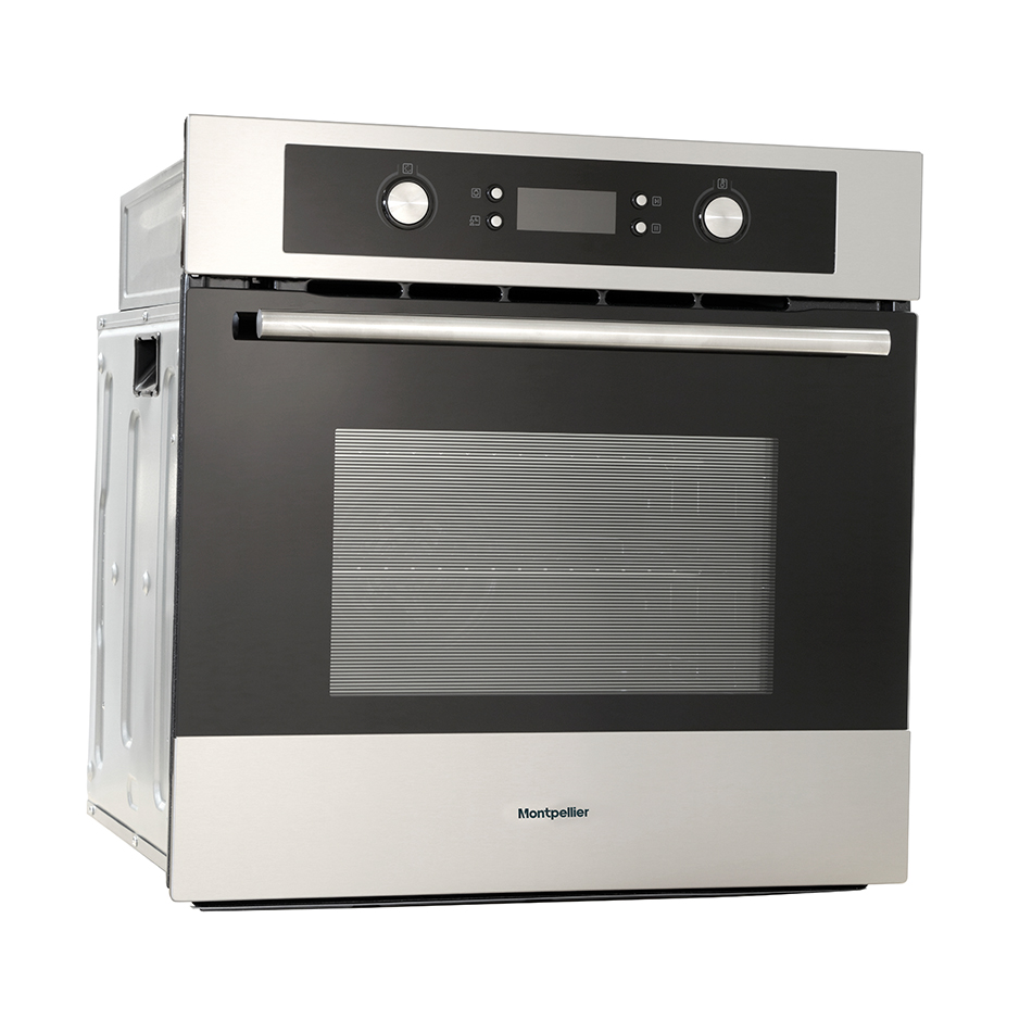 Montpellier SFPO72MX Single, Electric, Pyrolytic Built-In Oven.