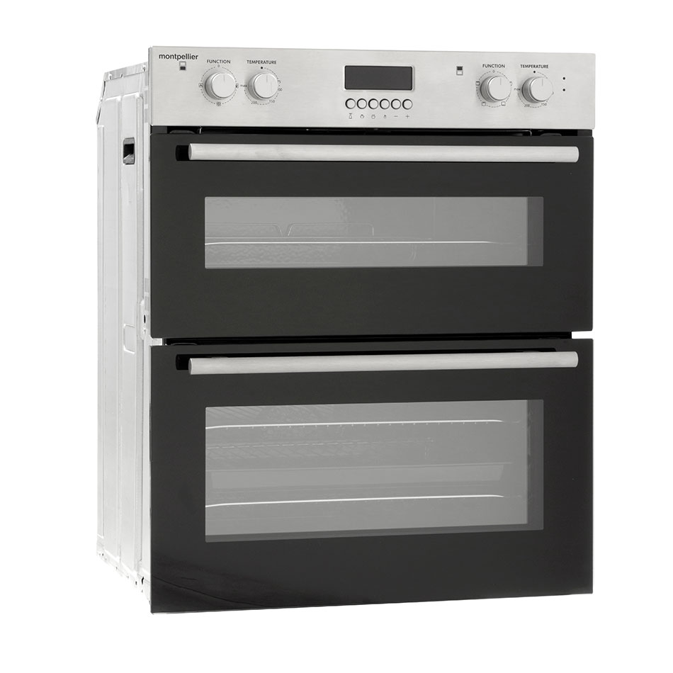 Montpellier MDO70X Double Built Under Oven, Electric, Stainless Steel
