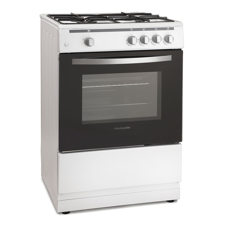 Montpellier MSG60W 60cm Single Cavity Gas Cooker