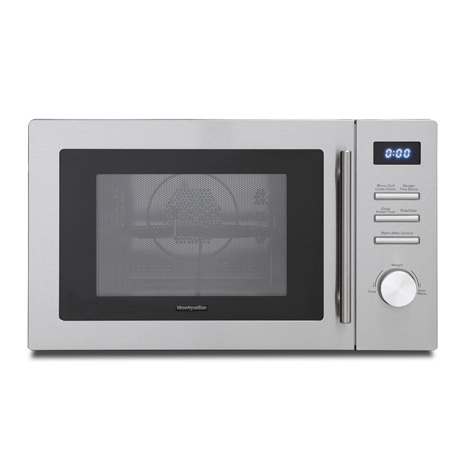 Combi Microwave Oven And Grill: Montpellier MMW34CSS Combi Microwave Oven & Grill