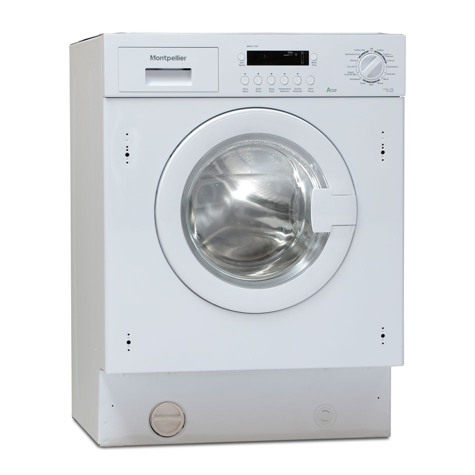 Montpellier MWDI7554 Integrated Washer Dryer