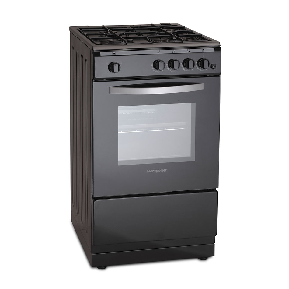 Montpellier MSG50K 50cm Single Cavity Gas Cooker