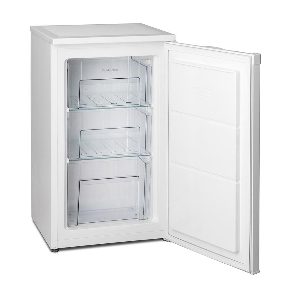 montpellier mzf48w freestanding under counter freezer. Black Bedroom Furniture Sets. Home Design Ideas