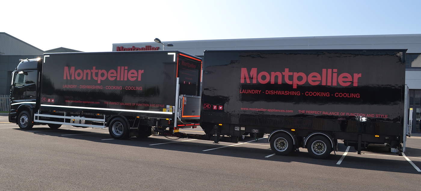 new lorry added to our fleet