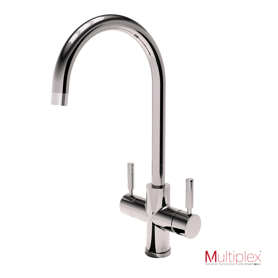 Montpellier Multiplex 3in1SB Swan Spout Tap