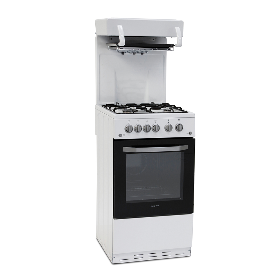 Montpellier MEL50W Eye Level Cooker in White