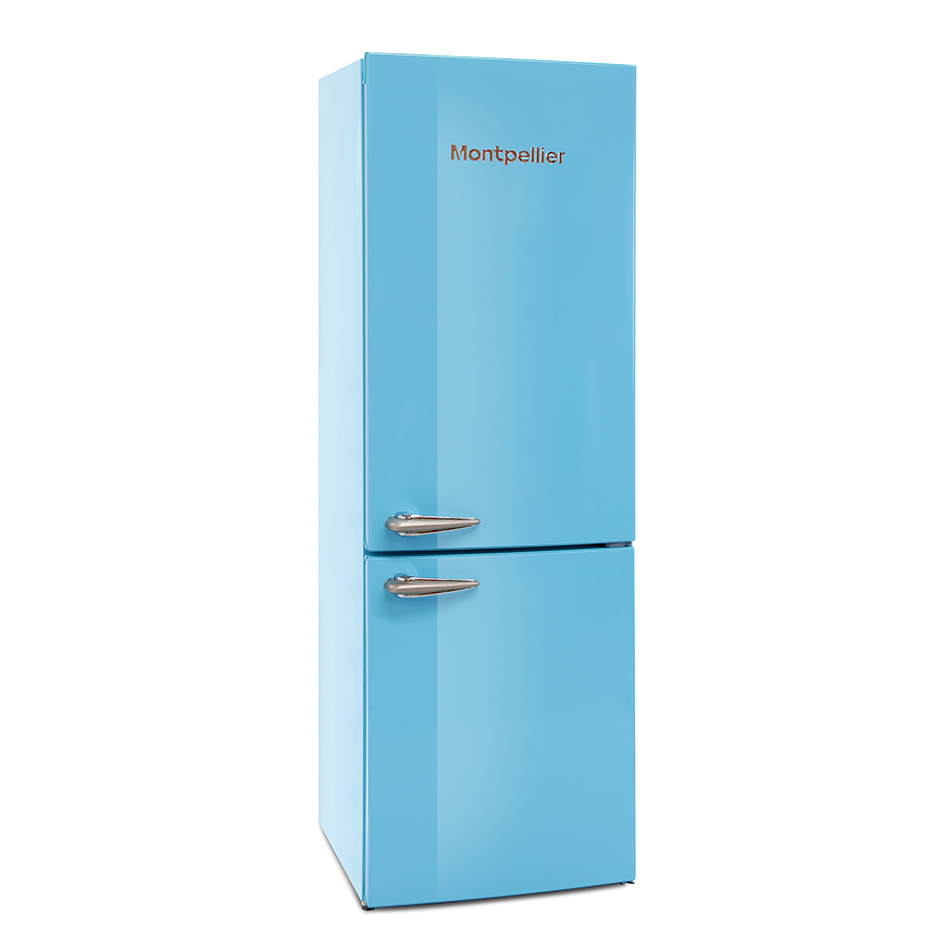 Montpellier MAB385PB Retro Frost Free Fridge Freezer