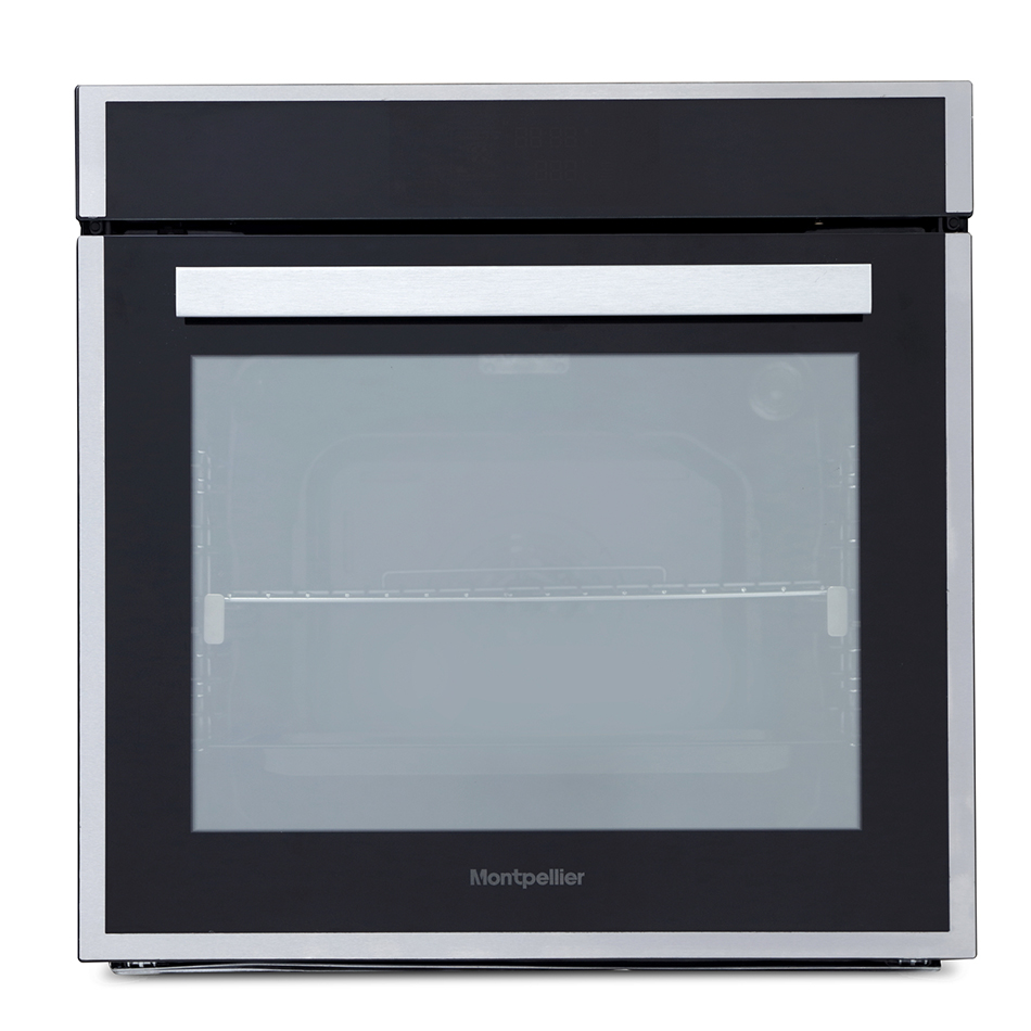 Montpellier SFPO77MBX Pyrolytic Single Oven - New 2018 Model