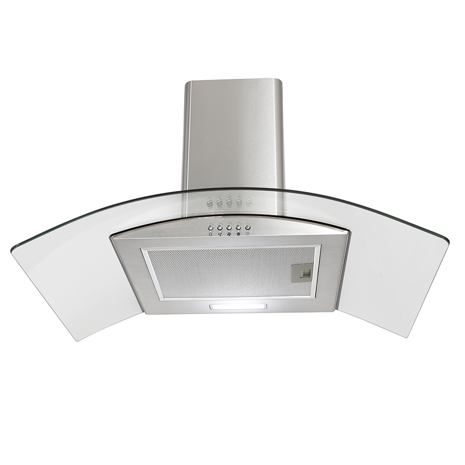 Montpellier CHG713MSS Glass Chimney Hood