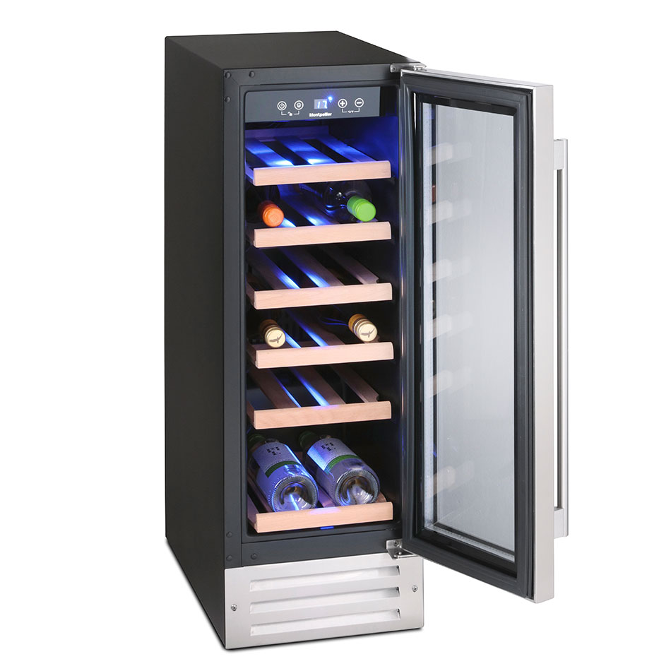 Montpellier Ws7sdx 7 Bottle Wine Cooler