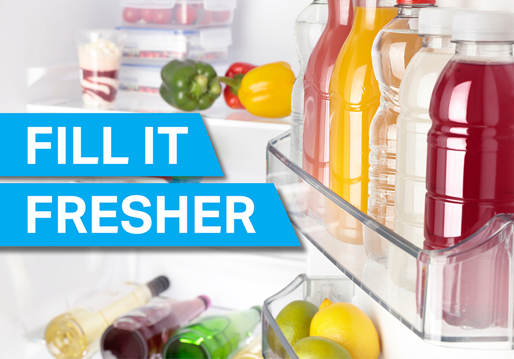 fill it fresher