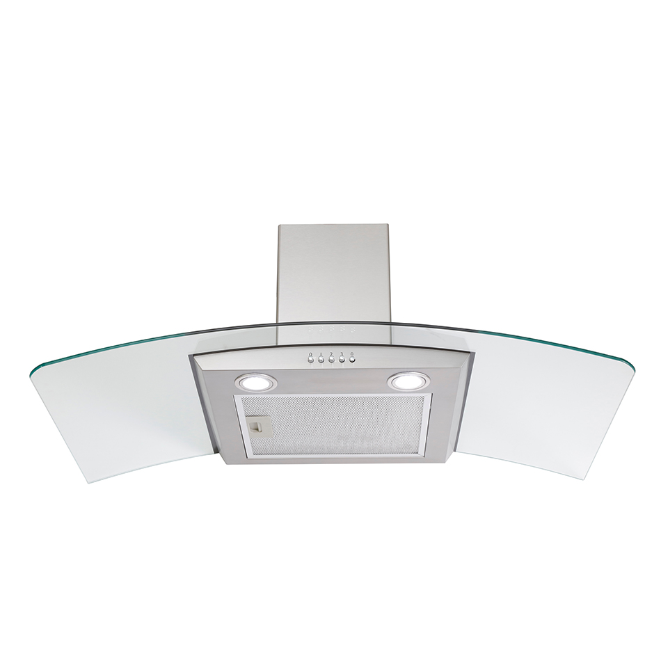 Montpellier CHG913MSS  Glass Chimney Hood