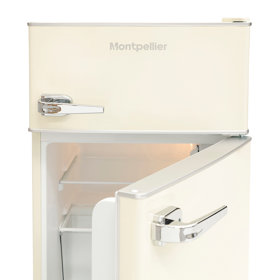 Montpellier Mab2030k R Mini Retro Fridge Freezer Undercounter
