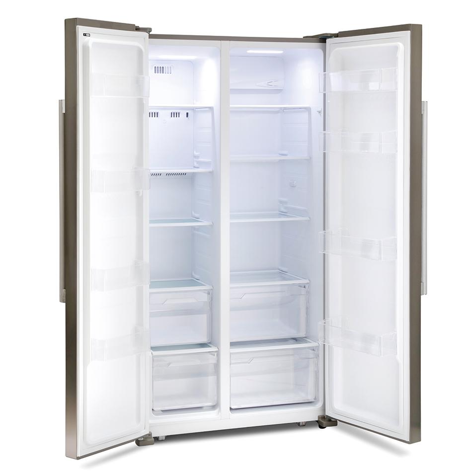 montpellier m605x side by side fridge freezer. Black Bedroom Furniture Sets. Home Design Ideas