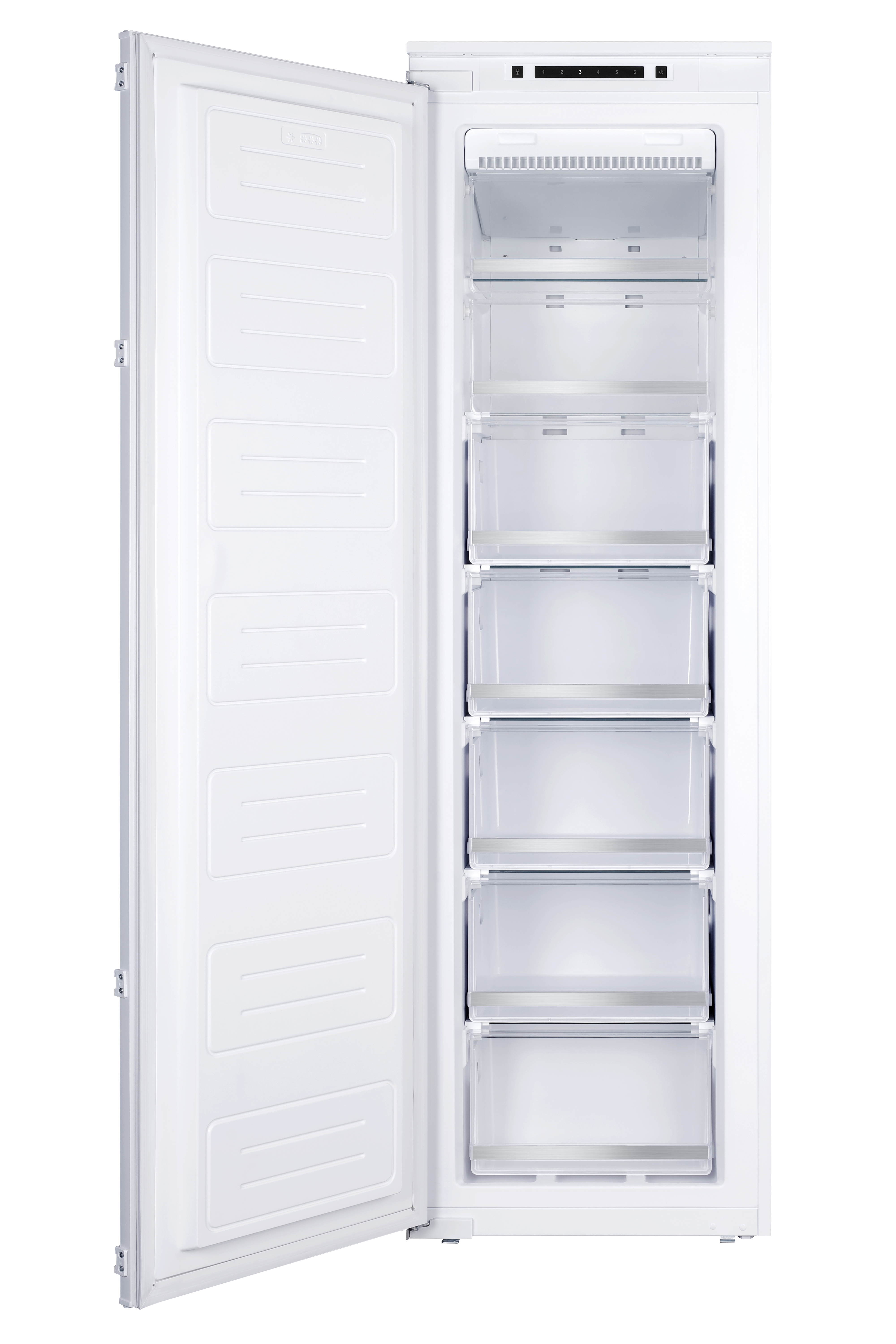 Montpellier MITF210 Tall In Column Freezer