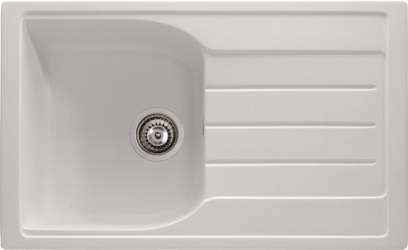 'Winchcombe' 1.0 Bowl Sink in Frost White