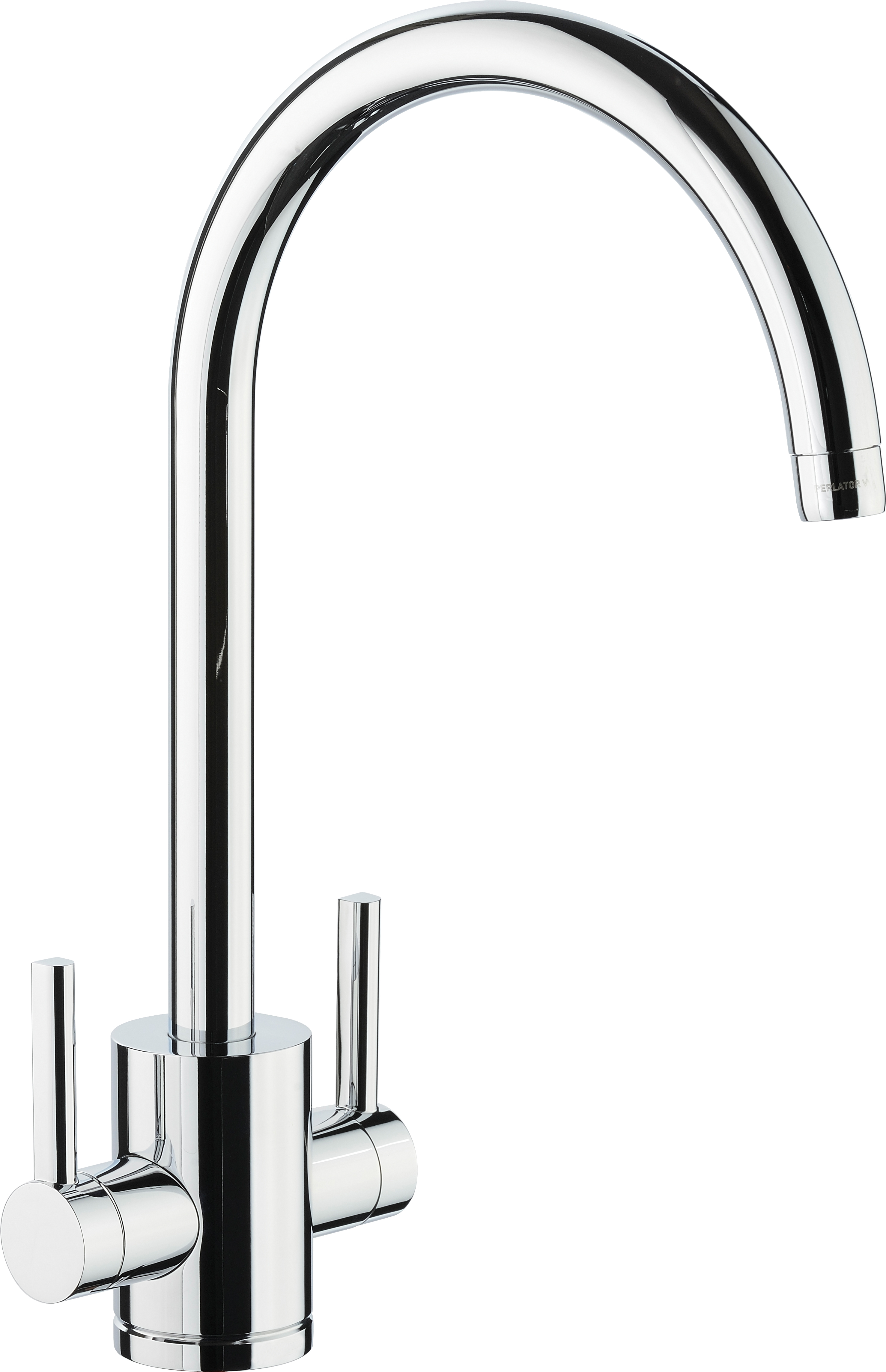 'Droitwich' Dual Lever Filter Tap in a Chrome Finish