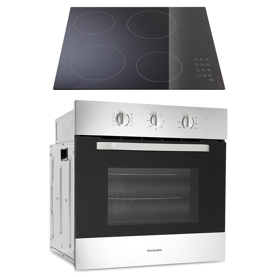 montpellier sfop60mc integrated oven hob pack cooking. Black Bedroom Furniture Sets. Home Design Ideas