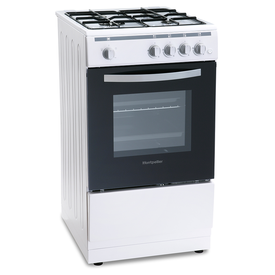 Montpellier MSG50W 50cm Single Cavity Gas Cooker
