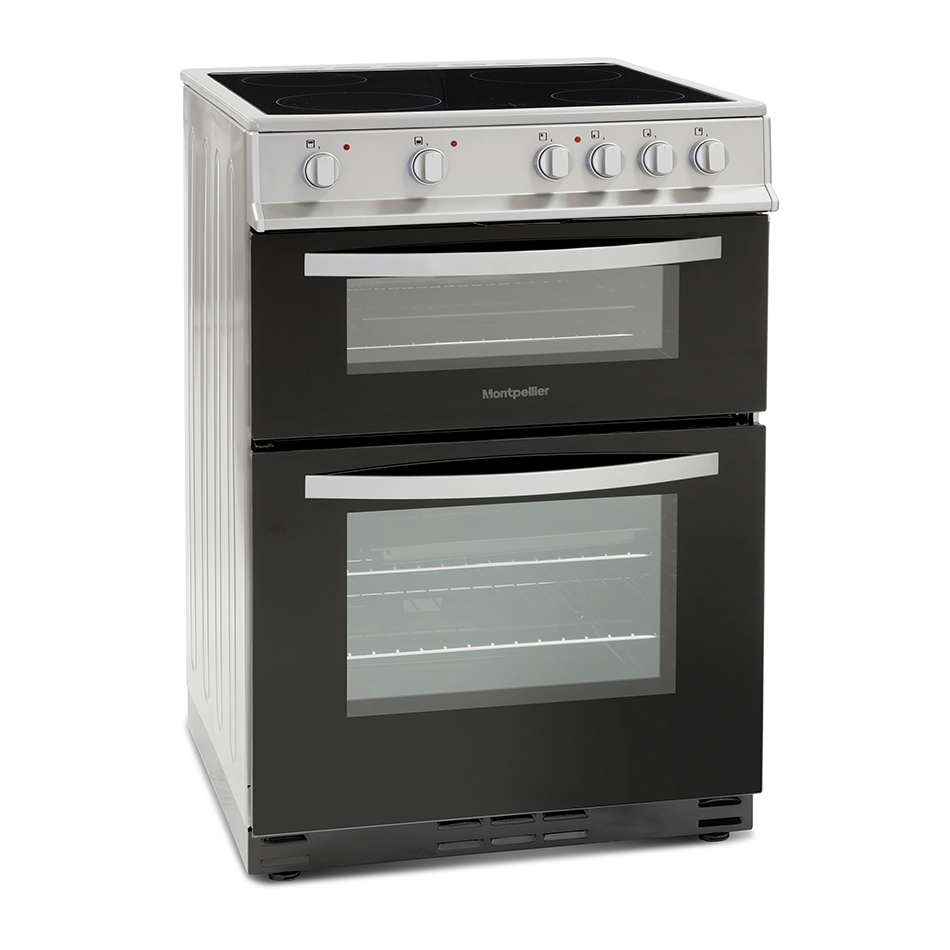 Montpellier MTC60FS Twin Cavity 60cm Electric Cooker