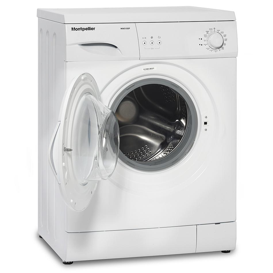 Montpellier MW5100P Freestanding Washing Machine on Washing Machine  id=76226