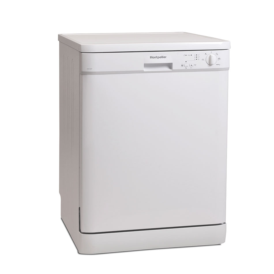 Montpellier DW1254P Freestanding Full Size Dishwasher