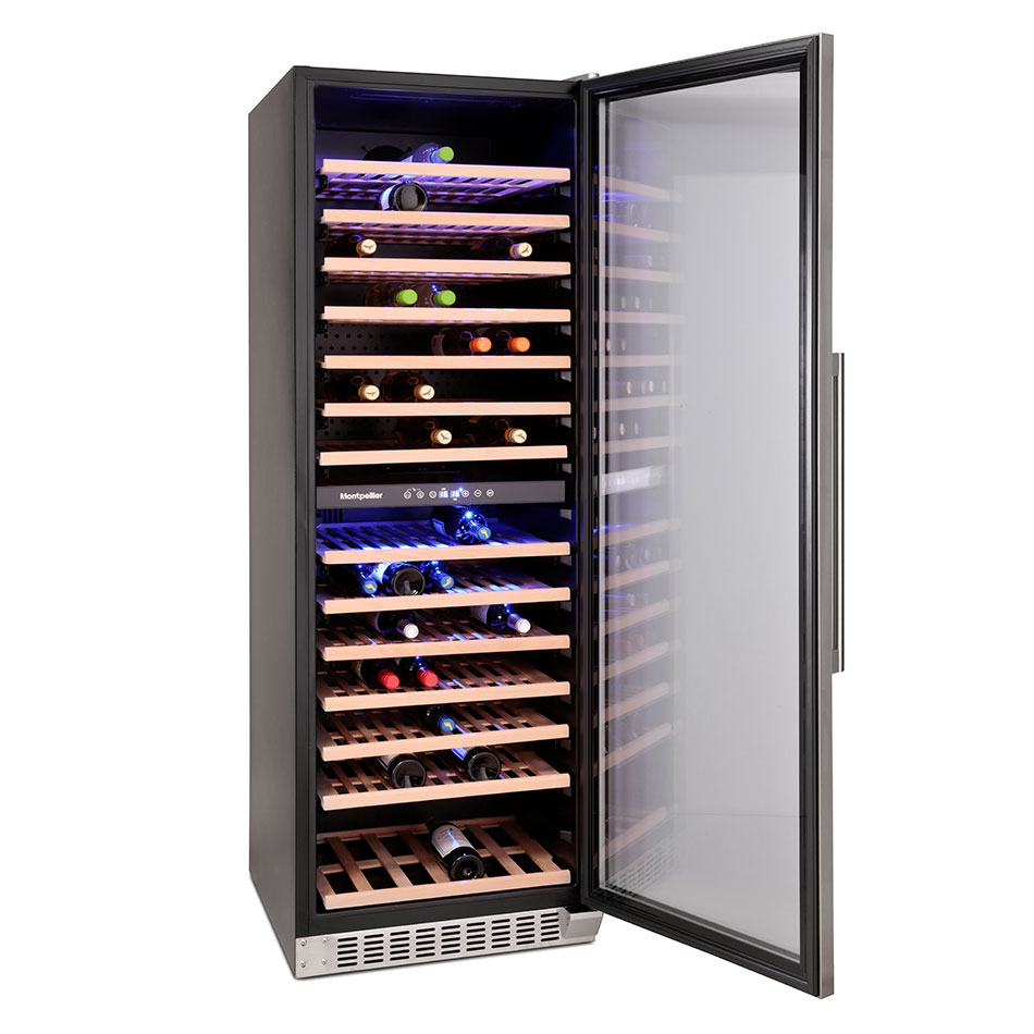 Montpellier WS166SDX 166 Bottle Wine Cooler