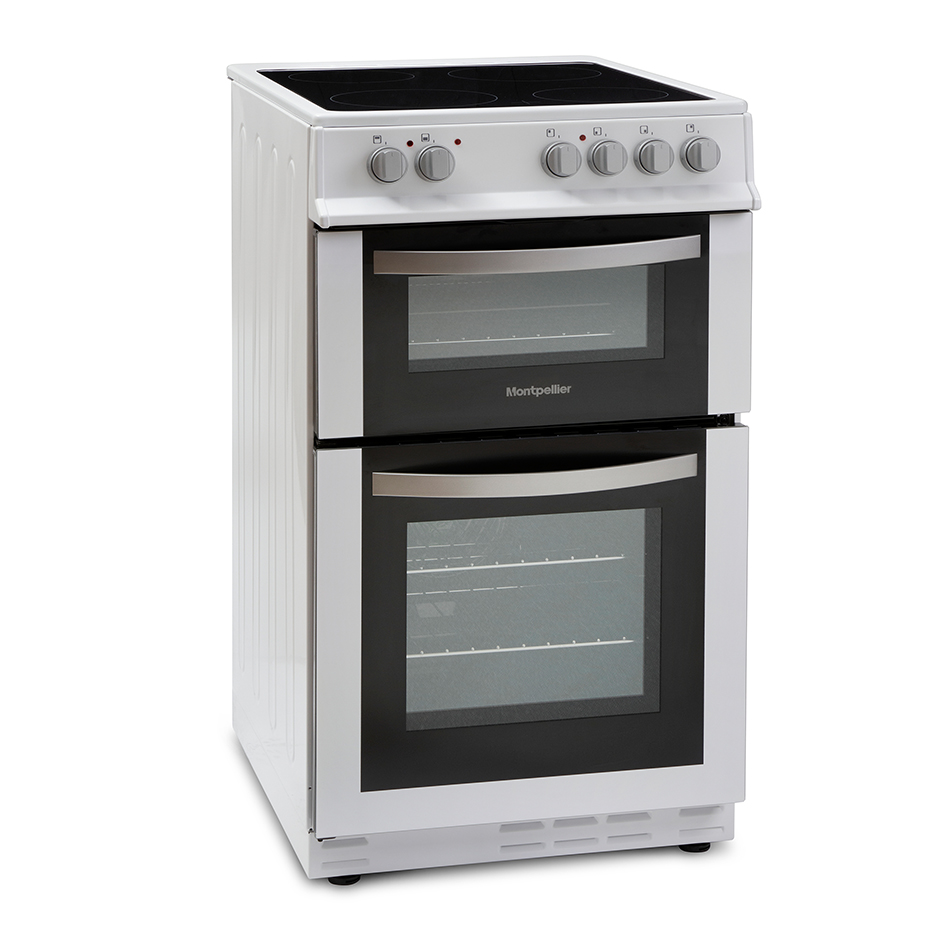 Montpellier MDC500FW 50cm Double Oven