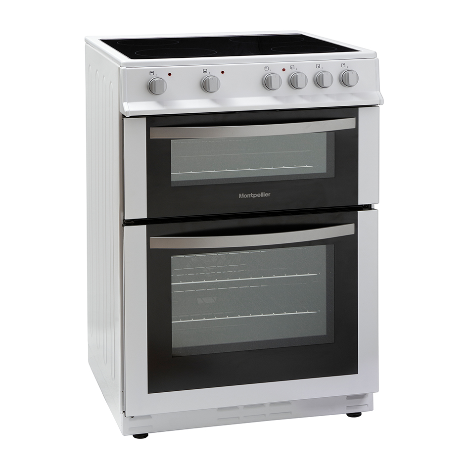 Montpellier MDC600FW 60cm Double Oven