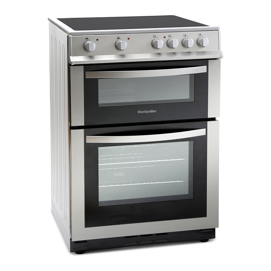 Montpellier MDC600FS 60cm Double Oven