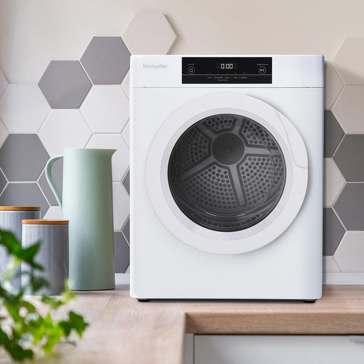 Montpellier Mtd30p 3kg Compact Tumble Dryer Montpellier Domestic Appliances Ltd